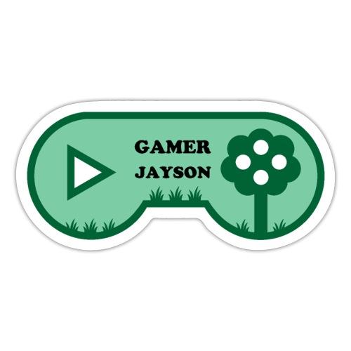 Joueur Jayson - Autocollant
