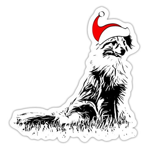 Weihnachten Sheltie Hund Shetland Sheepdog - Sticker