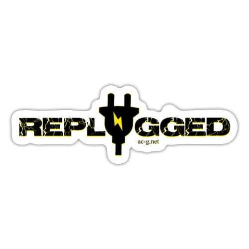 Replugged Singles - Clip Art Black - Sticker