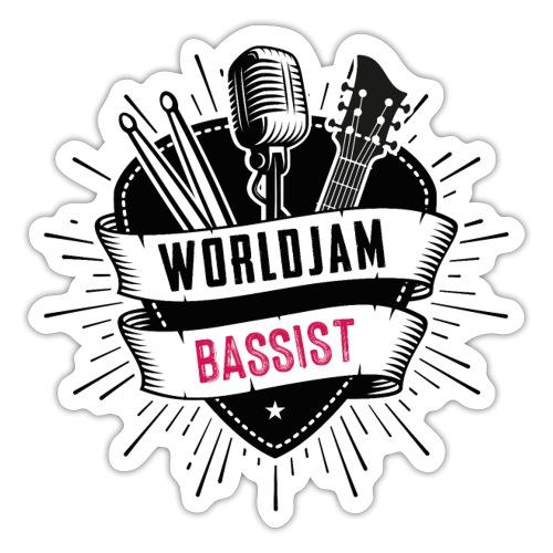 WorldJam Bassist - Sticker