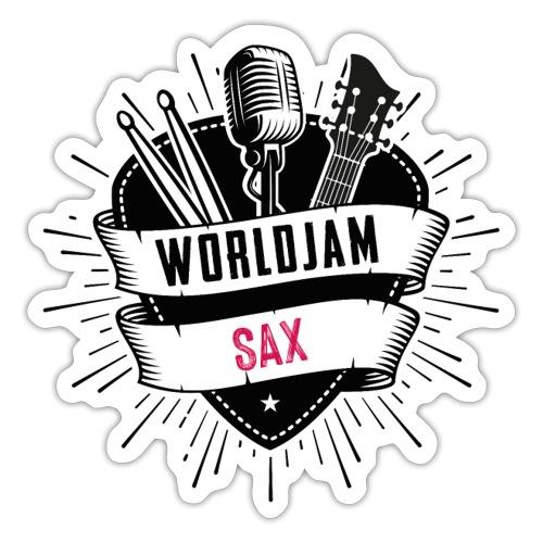 WorldJam Sax - Sticker