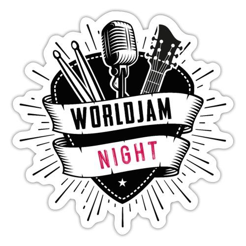 WorldJam Night - Sticker
