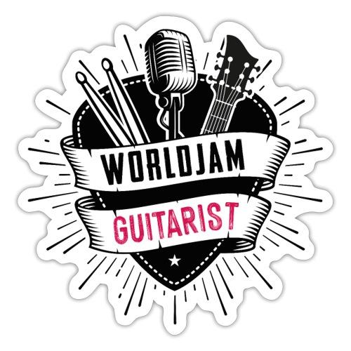 WorldJam Guitarist - Sticker