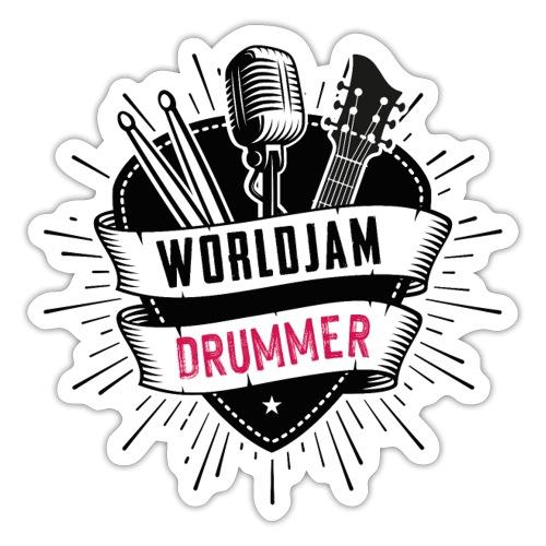 WorldJam Drummer - Sticker
