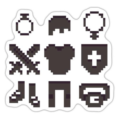 RPG Inventory Slots - Sticker