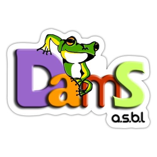 DAMS asbl - Autocollant