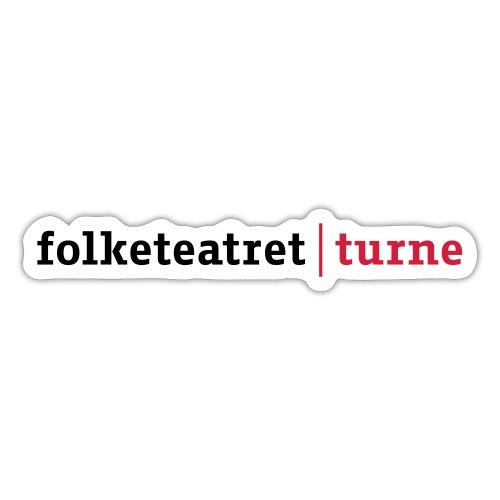 Philip Raistrick Folketeatret turne NY 2011 DK - Sticker