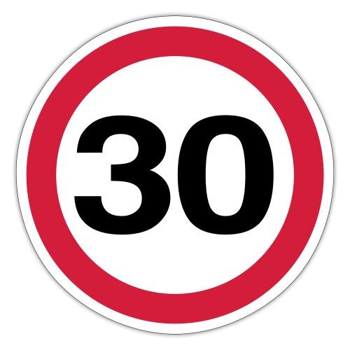 30mph Vector - Sticker