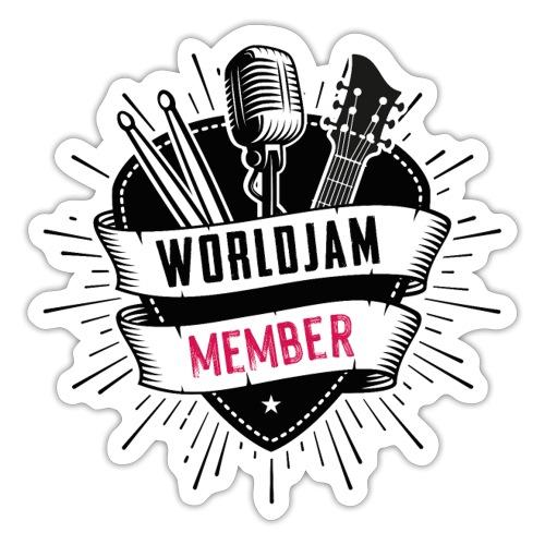 WorldJam Member - Sticker