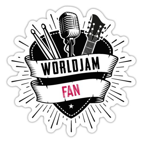 WorldJam Fan - Sticker