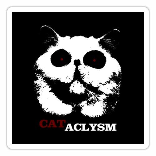 Cataclysm - Zombie Monster Katzen Horror Halloween - Sticker