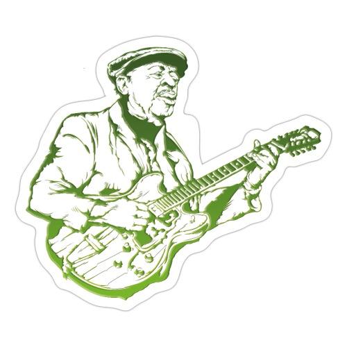 Blues - Klistermärke