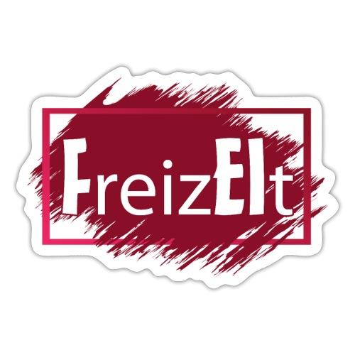 Wortspiel Freizeit beinhaltet FREI REIZT 2 - Sticker