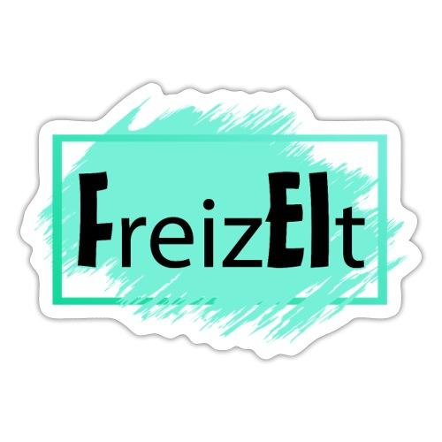 Wortspiel Freizeit beinhaltet FREI REIZT 1 - Sticker