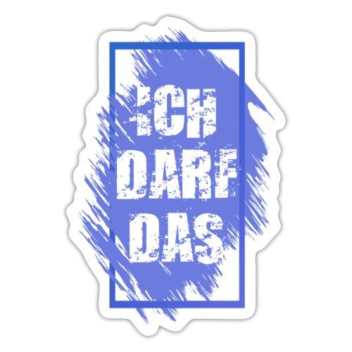 Statement Frame ICH DARF DAS 2 - Sticker