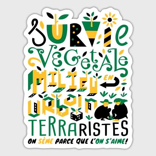 Green Guerilla - Autocollant