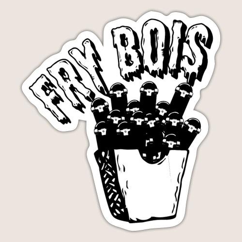 Fry Bois - Klistermärke