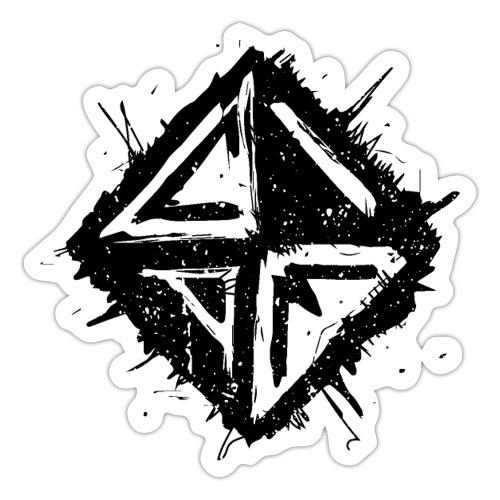 Logo Schwarz - Sticker