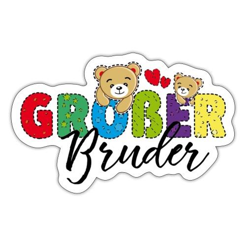 Großer Bruder Teddy - Sticker
