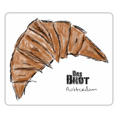 Croissant 'Das Brot' - Sticker