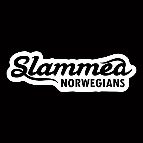 SlammedNorwegians Sticker - Klistremerke