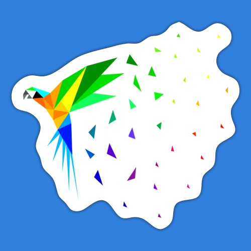 Limited Edition - Macaw - Sticker