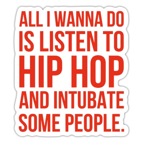 HIPHOP - Sticker