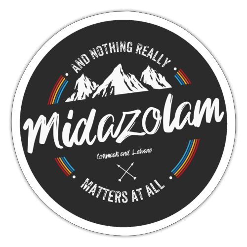 Midazolam - Sticker