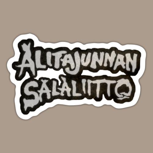 Alitajunnan Salaliitto - 2020 logo - Tarra