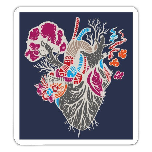 xxxx is where your heart is - Sticker