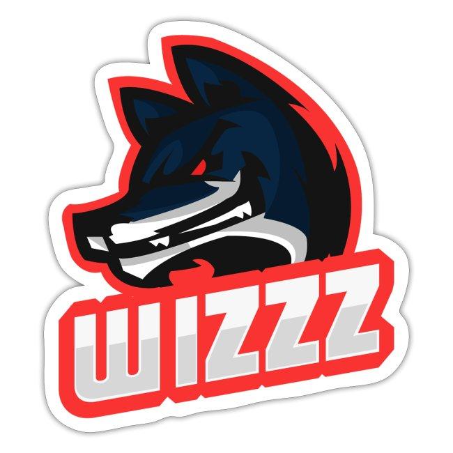 wizzz e-sport gaming logo sticker