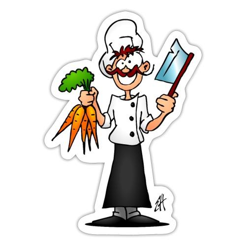 The vegetarian chef - Sticker