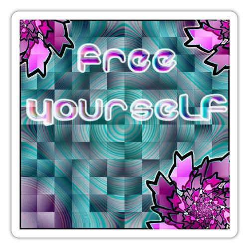 Free djf - Pegatina