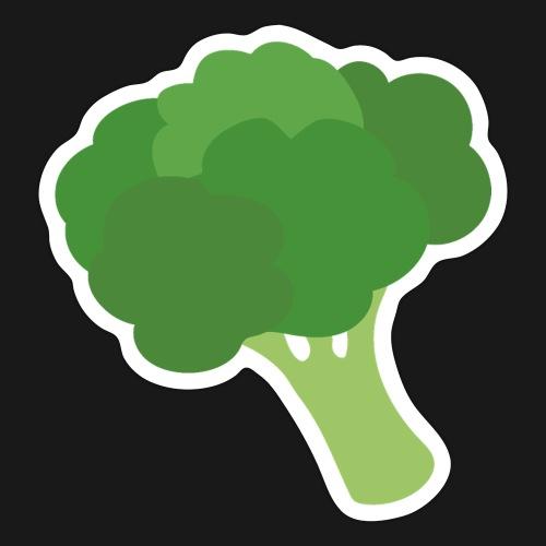 Brokkoli - Klistremerke