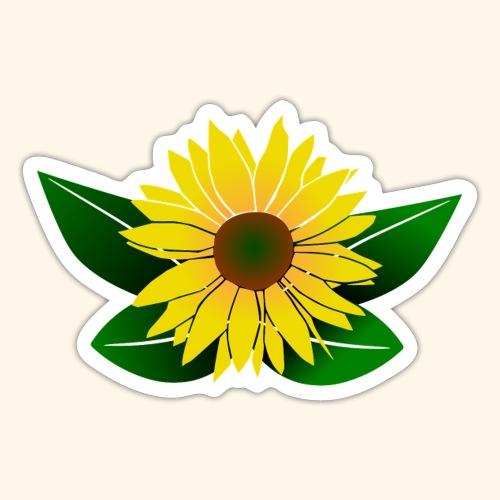 Sonnenblume, Sonnenblumen - Sticker
