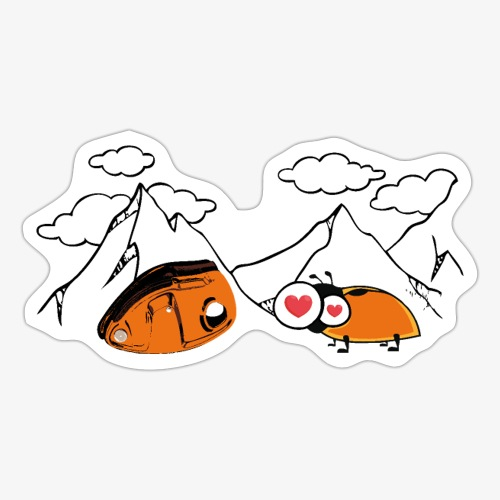 Grigri enamorado - Sticker