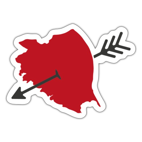 Bamberg Herzliebe - Sticker