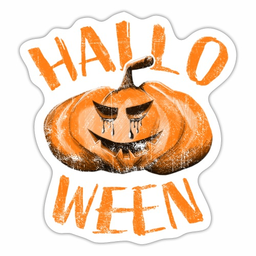 Hallo Ween - Sticker