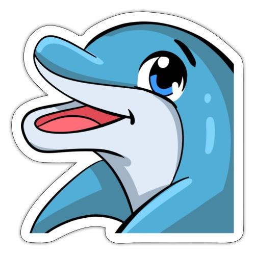 Happy Dolphin - Sticker