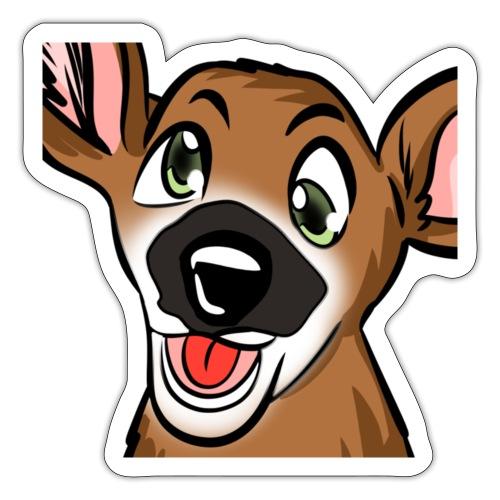 Derpy Bongo Face - Sticker