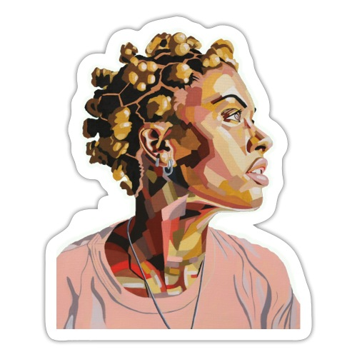 She Just Glows - Sticker