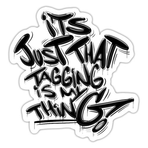Just Tagging... - Sticker