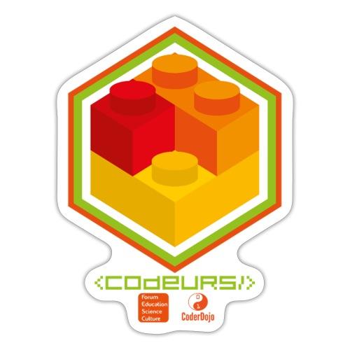 Logo Brickodeurs Design - Autocollant