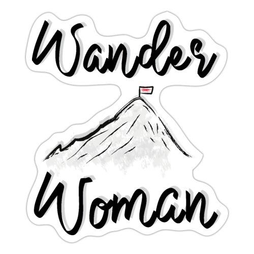 Wanderwoman - Sticker