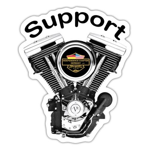 Support Indis bunt evolution engine - Sticker