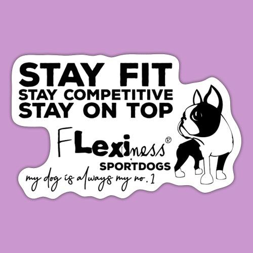 Flexiness Sportdog - Sticker