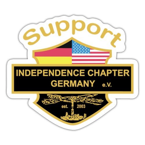 Support Indis bunt - Sticker