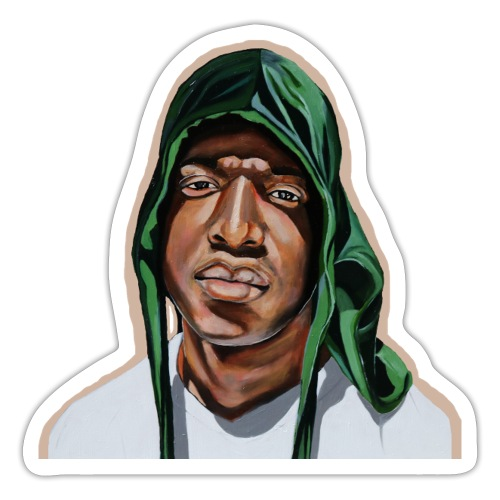 Emerald Durag - Sticker