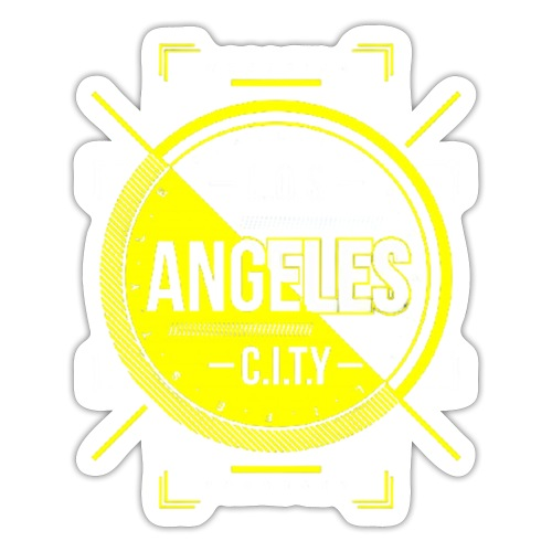 Los Angeles City - Sticker