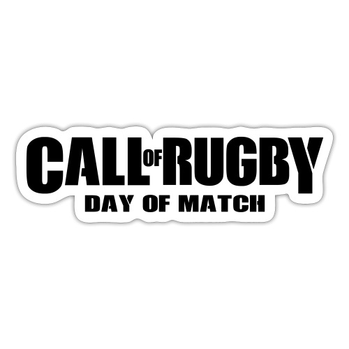 call of rugby - Autocollant